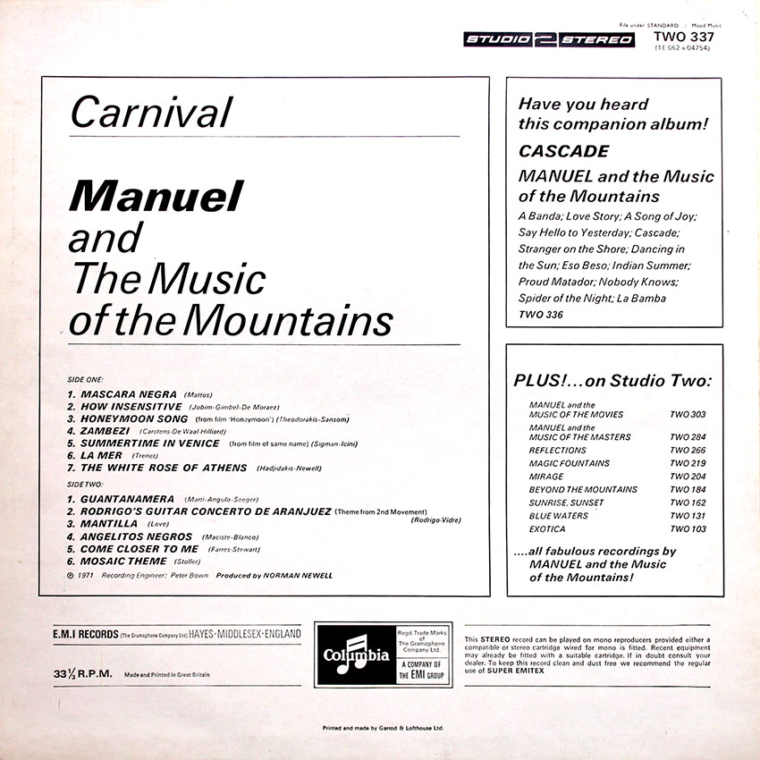 Manuel and the Music of the Mountains - Carnival