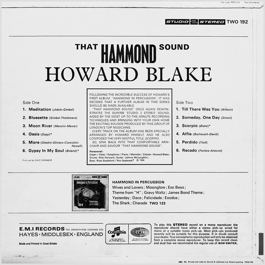 Howard Blake - That Hammond Sound