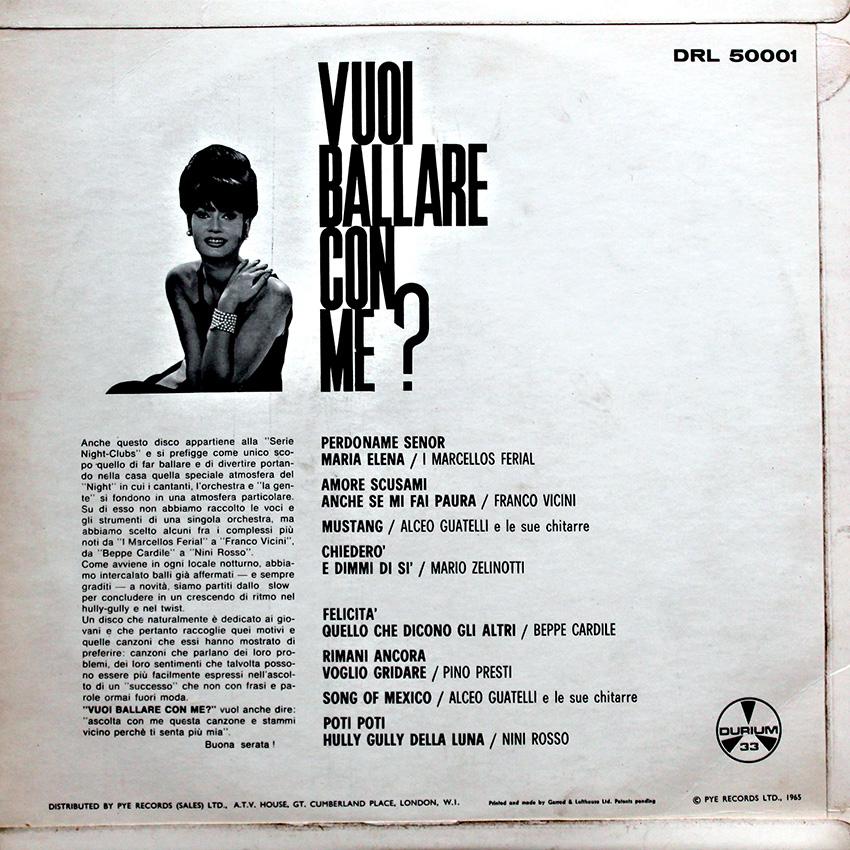 Various Artists - Vuoi Ballare Con Me?
