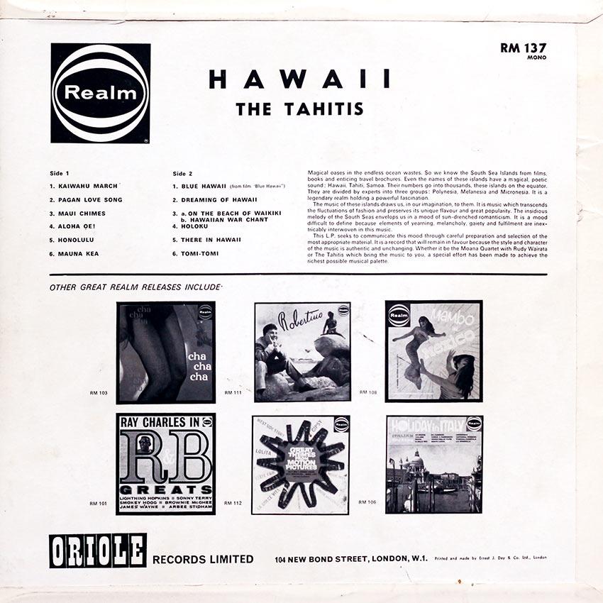 The Tahitis - Hawaii