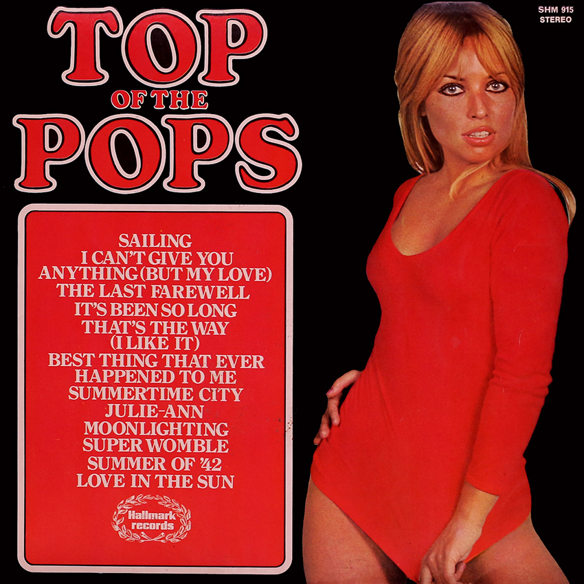 Top of the Pops Vol. 42 featuring cover girl Suzy Shaw