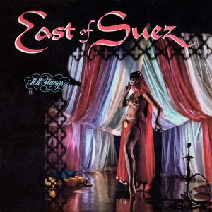101 Strings - East of Suez - another beautiful record cover from Cover Heaven
