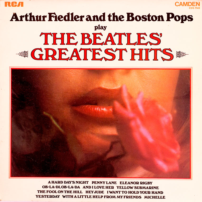 Arthur Fiedler and The Boston Pops - play The Beatles Greatest Hits