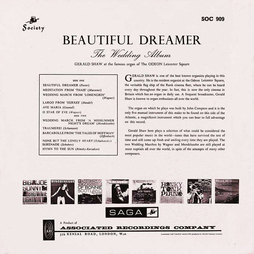 Gerald Shaw - Beautiful Dreamer - The Wedding Album