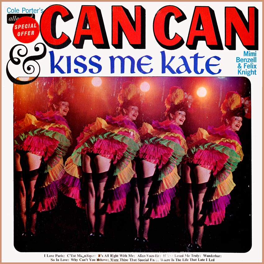 Mimi Benzell and Felix Knight - Can Can and Kiss Me Kate