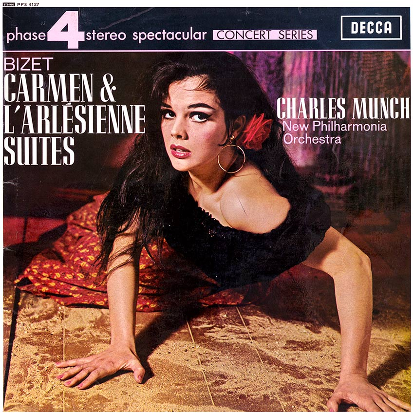 Charles Munch New Philharmonia Orchestra – Bizet, Carmen
