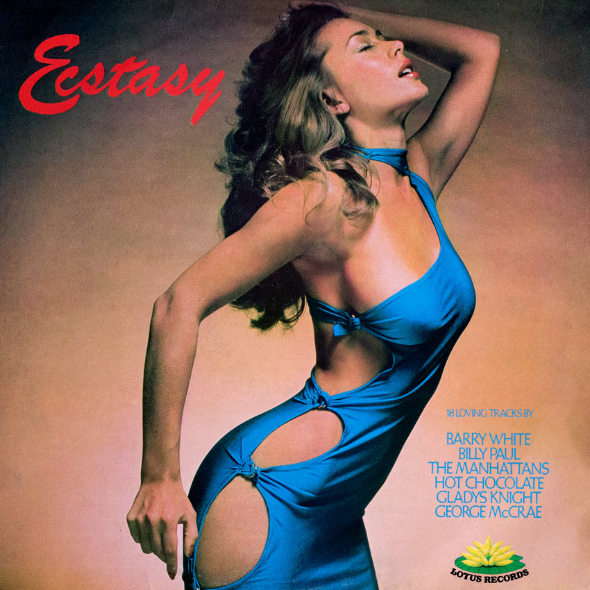 """Ecstacy - Various Artists - Billy Paul, Barry White (""""The Walrus of Love""""), Minne Ripperton, Gladys Knight"""