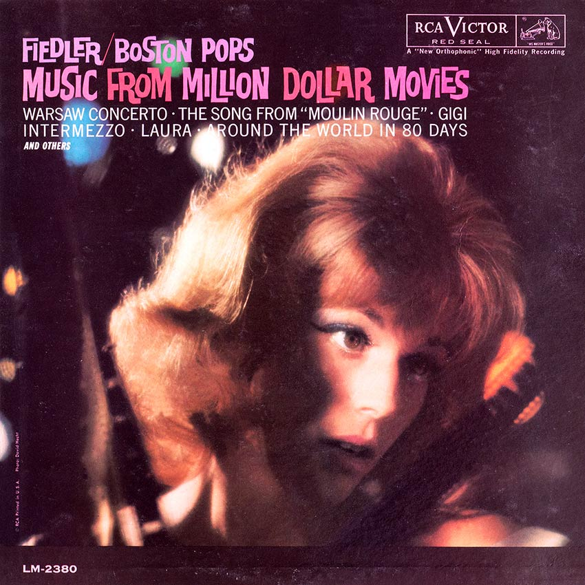 Arthur Fiedler and the Boston Pops Orchestra – Music From Million Dollar Movies