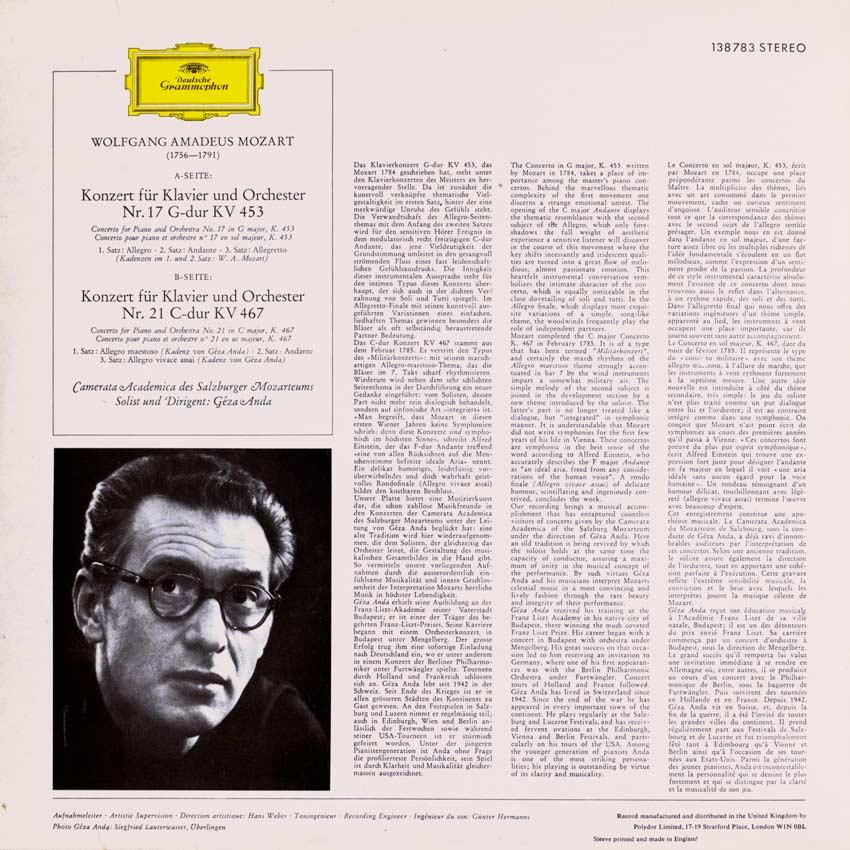 Camerata Academica of the Salzburg Mozarteum - Mozart Piano Concertos