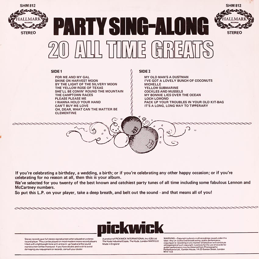 Party Sing-along 20 All Time Greats