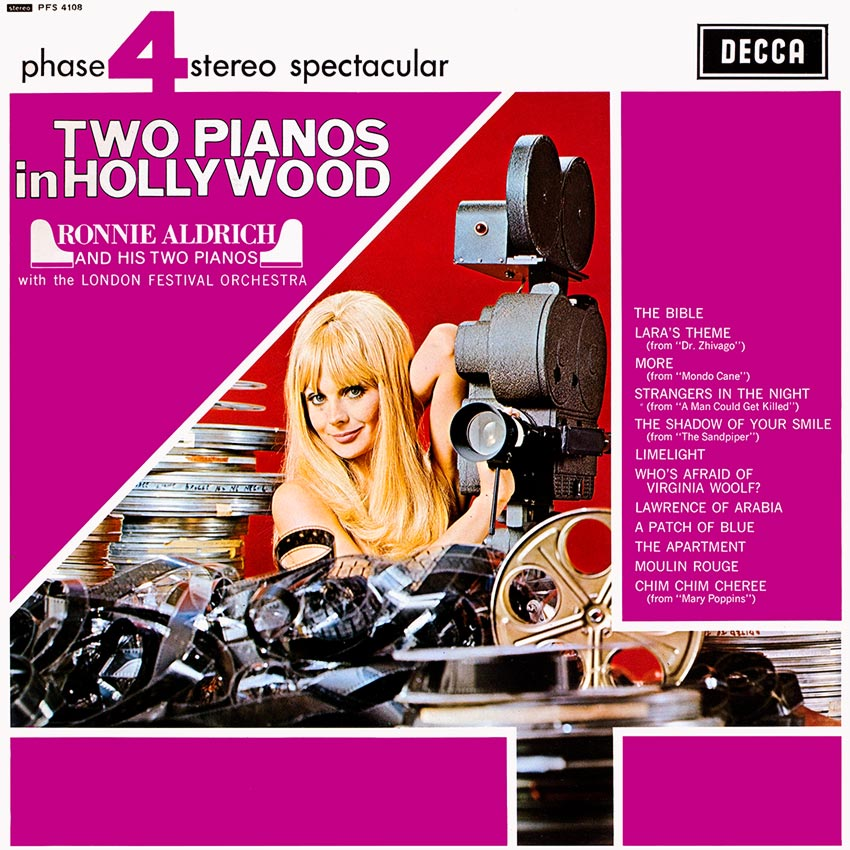 Ronnie Aldrich and His Two Pianos - Two Pianos in Hollywood