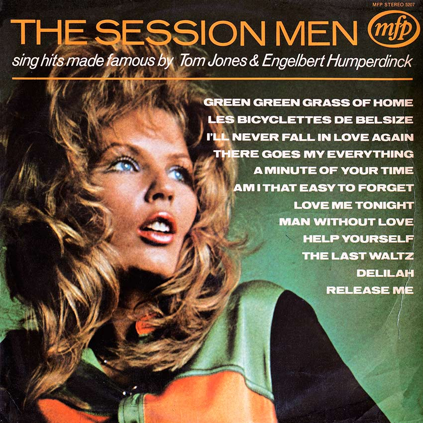 The Session Men sing hits by Tom Jones and Engelbert Humperdink