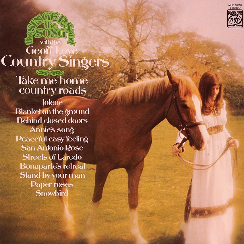The Geoff Love Country Singers – The Singers and the Song