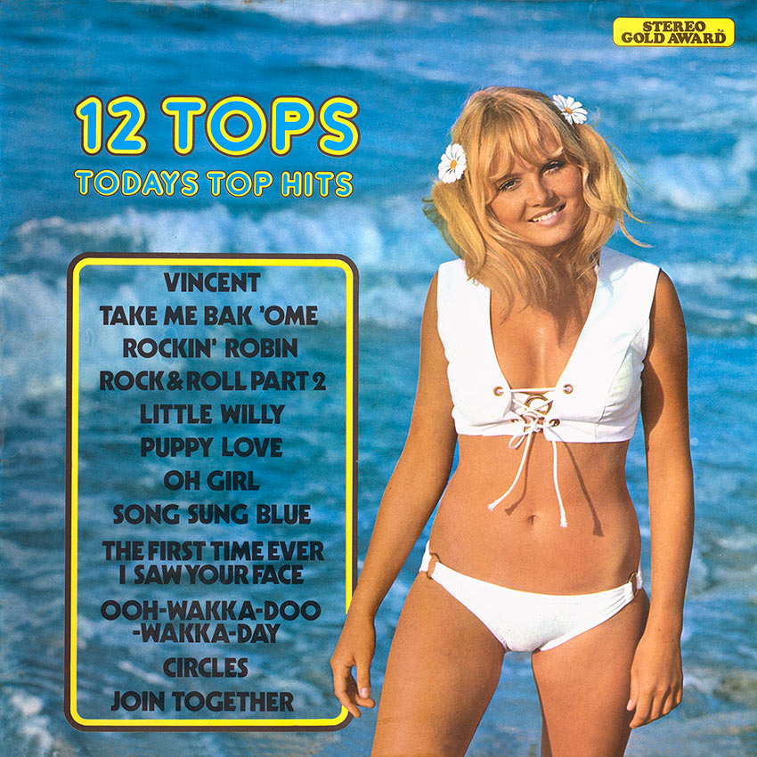 12 Tops – Today's Pop Hits Vol. 03 The Original Hit Sounds
