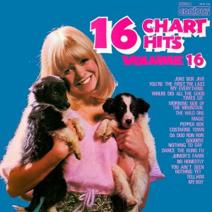 16 Chart Hits Vol. 16 - beautiful record covers from Cover Heaven