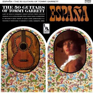 The 50 Guitars of Tommy Garrett - España - Beautiful Record Covers from Cover Heaven