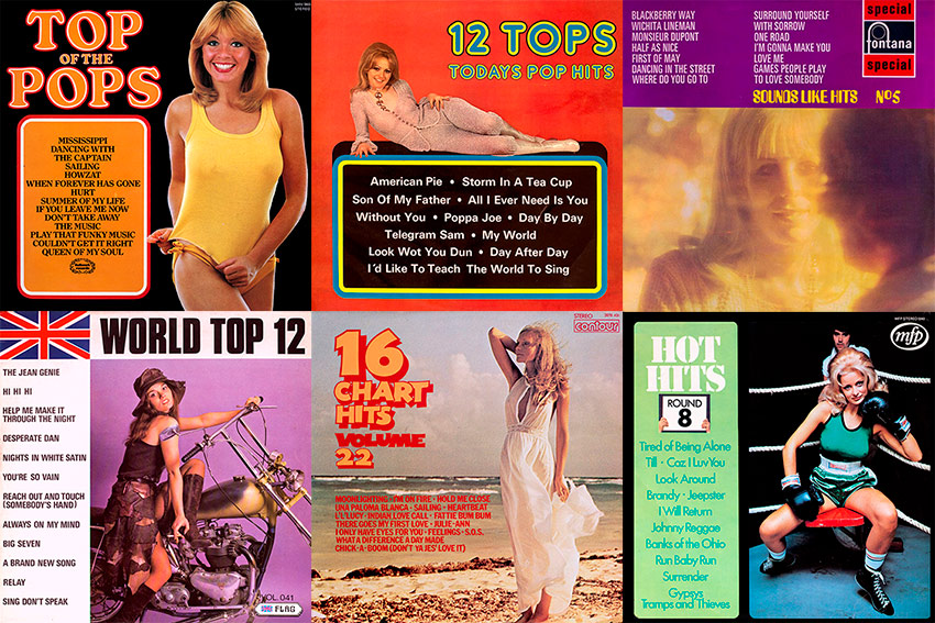 "The record covers featured in the Cover Heaven archives come from a diverse range of genres, styles and artists but among them you'll find a more than fair representation of records from what might be labelled the ""budget"" end of the spectrum such as Top of the Pops, Parade of Pops, 16 Chart Hits, Pick of the Pops, Chartbusters"