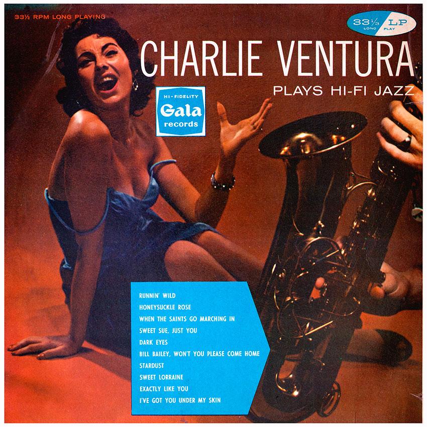 Charlie Ventura Plays HiFi Jazz