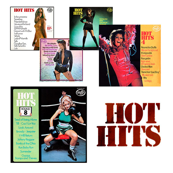 Hot Hits series - beautiful record covers from Cover Heaven