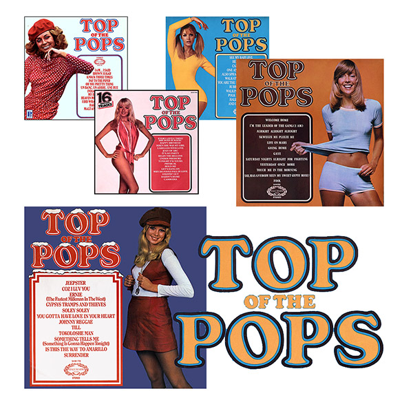 TYop of the Pops series - beautiful album covers from Cover Heaven
