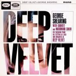 George Shearing The Quintet and Woodwind Choir - Deep Velvet - beautiful record covers from Cover Heaven