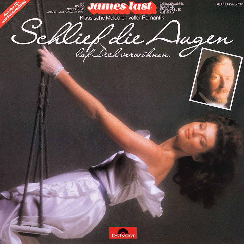 James Last - Schließ Die Augen Laß Dich Verwöhnen - another beautiful record cover from Cover Heaven