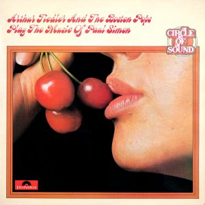 Arthur Fiedler and the Boston Pops Orchestra - Play The Music of Paul Simon - another beautiful album cover from Cover Heaven