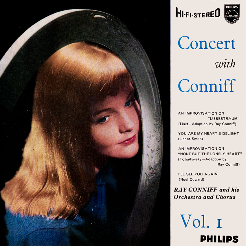 Ray Conniff and His Orchestra and Chorus - Concert With Conniff Vol. 1 - 7inch E.P. another beautiful vinyl record cover from Cover Heaven