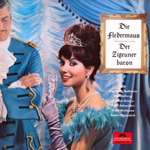Various – Die Fledermaus/Der Zigeunerbaron - another great cover from Cover Heaven