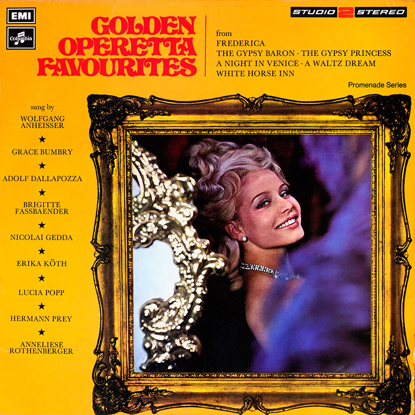 Golden Operettas Favourites - Various Artists - from Cover Heaven