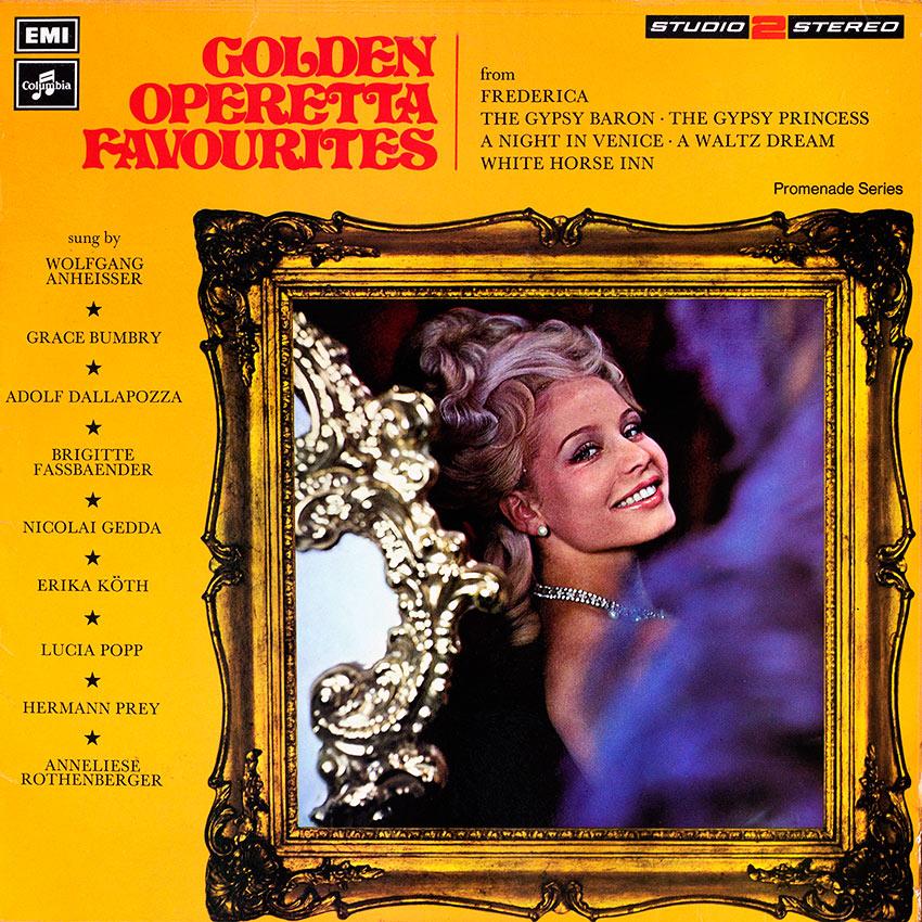 Golden Operettas Favourites – Various Artists