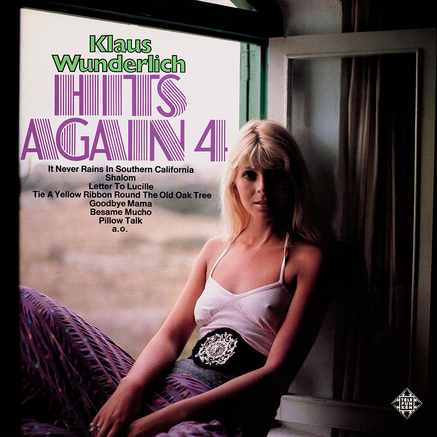Klaus Wunderlich - Hits Again 4 - another stunner from Cover Heaven