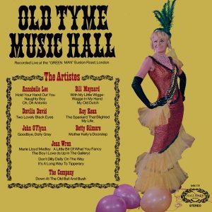 Annabelle Lee, Bill Maynard, Davilia David, Roy Kean, John O'Flynn, Betty Gilmore, Jean Wren - Old Tyme Music Hall - a saucy album cover from Cover Heaven