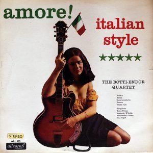 The Botti-Endor Quartet - Amore! Italian Style