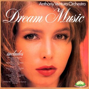 Anthony Ventura Orchestra - Dream Music - a dreamy album cover from Cover Heaven