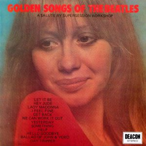 Golden Songs of The Beatles - Various Artists - A super sound-alike record cover from Cover Heaven