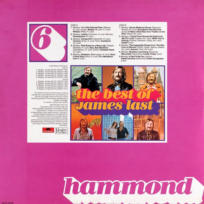James Last - The Best Of James Last: Hammond