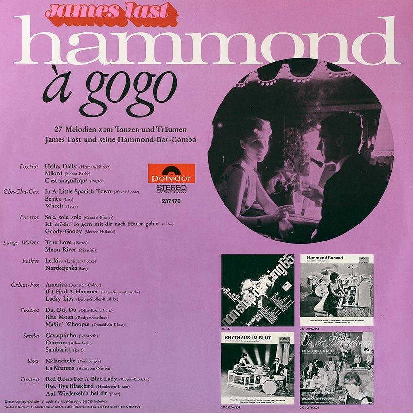James Last - Hammond À Gogo