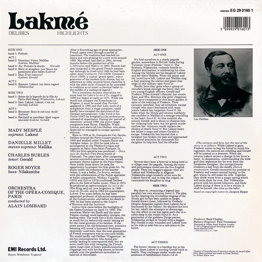 Delibes - Lakmé