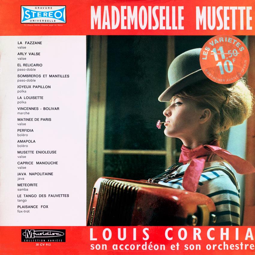 Louis Corchia son Accordéon et son Orchestre - Mademoiselle Musette
