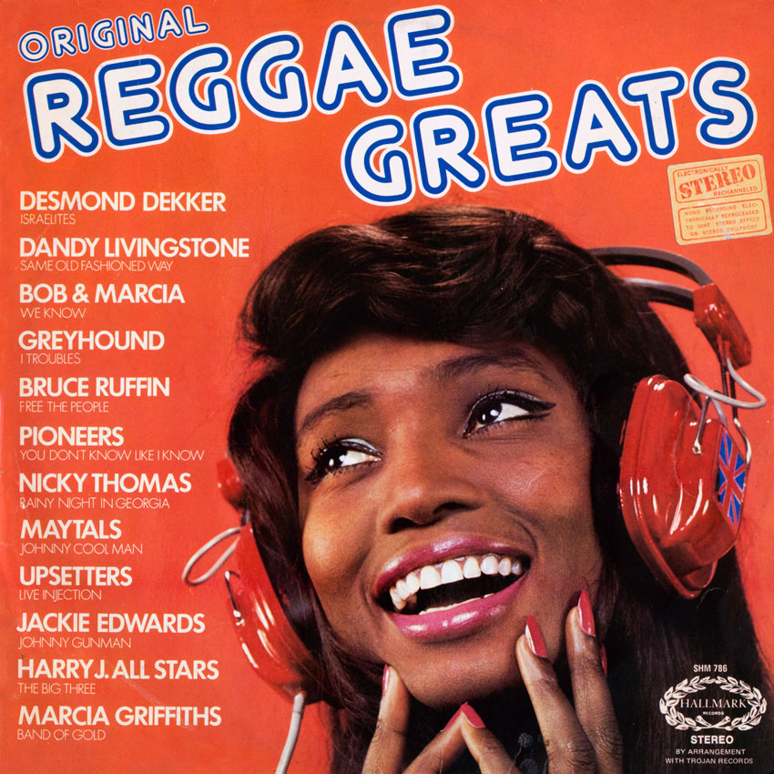 Original Reggae Greats - Various Artists - another delicious album cover from Cover Heaven