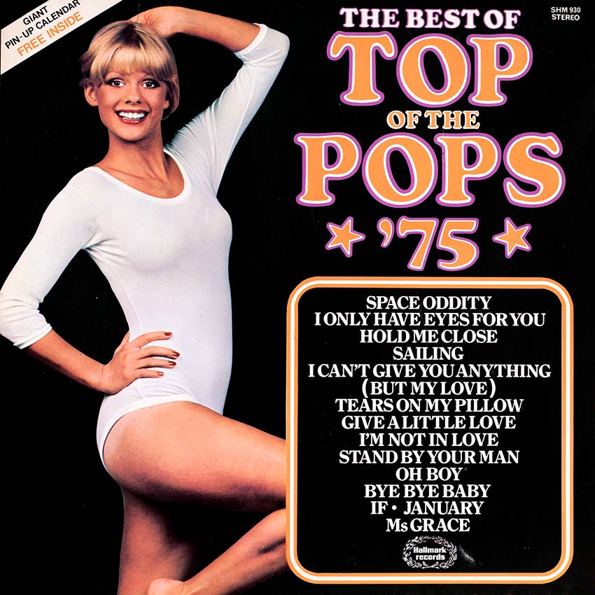 Top of the Pops Best of '75 - another in the cheesy series of Top of the Pops record covers