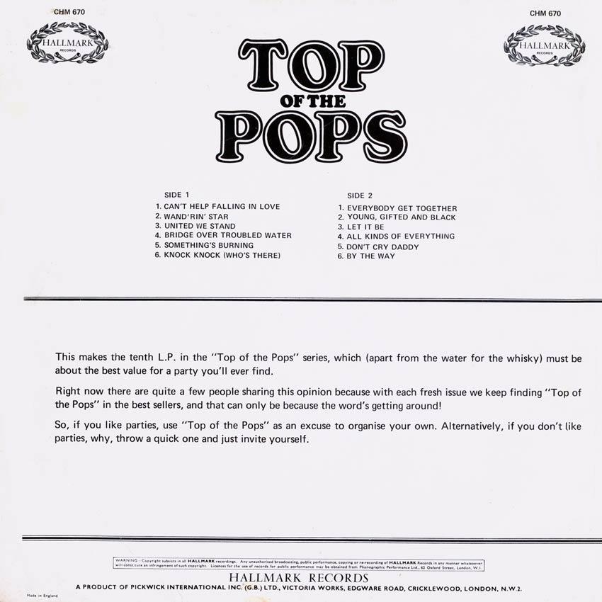 Top of the Pops Vol. 10