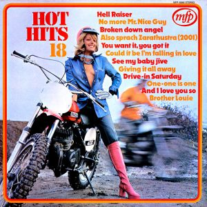 Hot Hits Vol. 18 - another sexy album cover from Cover Heaven