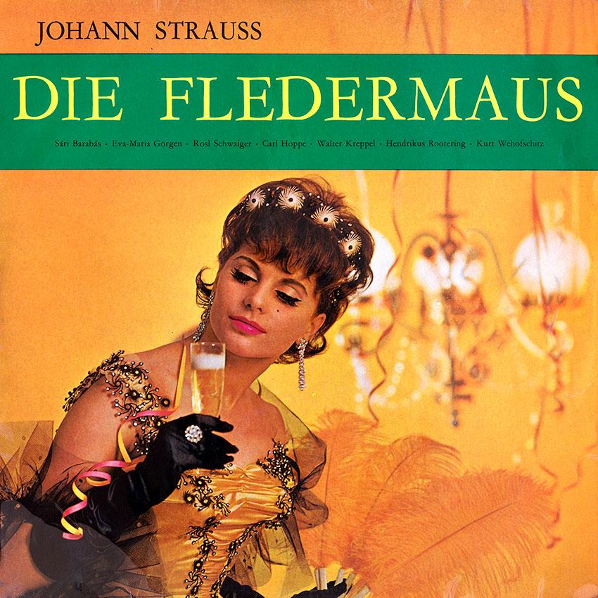 Johann Strauss - Die Fledermaus - World Record Club