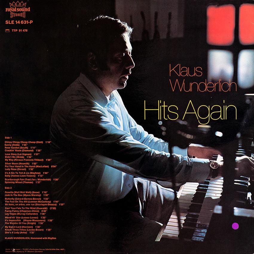 Klaus Wunderlich - Hits Again