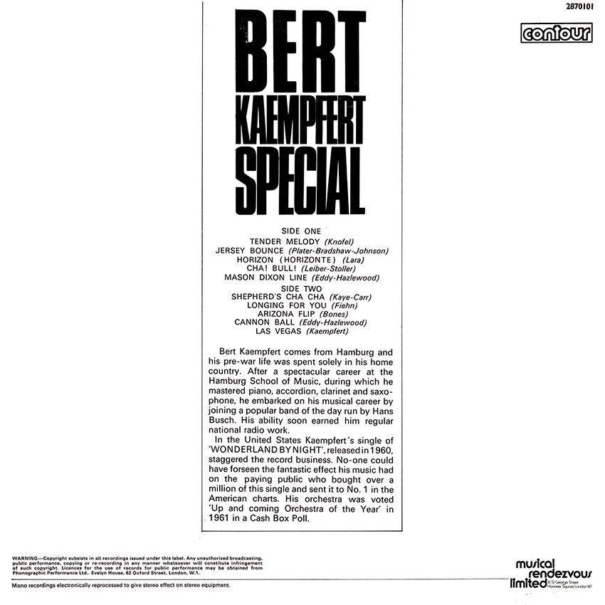 Bert Kaempfert - Bert Kaempfert Special