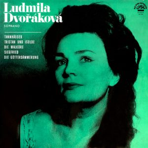Ludmila Dvořáková - Soprano - another beautiful record cover from Coverheaven