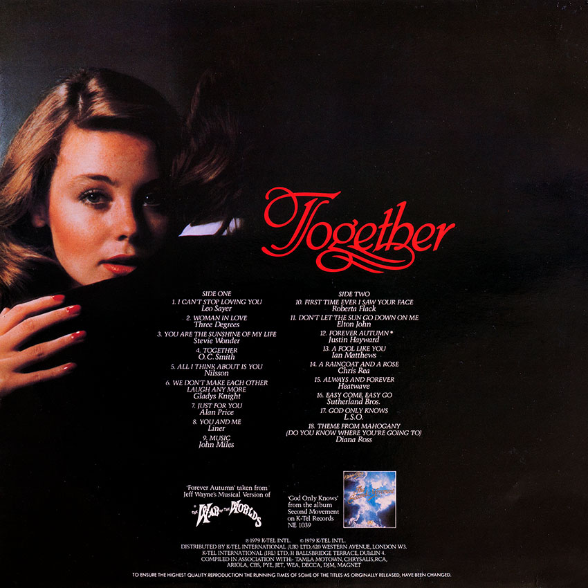 Together - Various Artists - featuring Nilsson, Leo Sayer