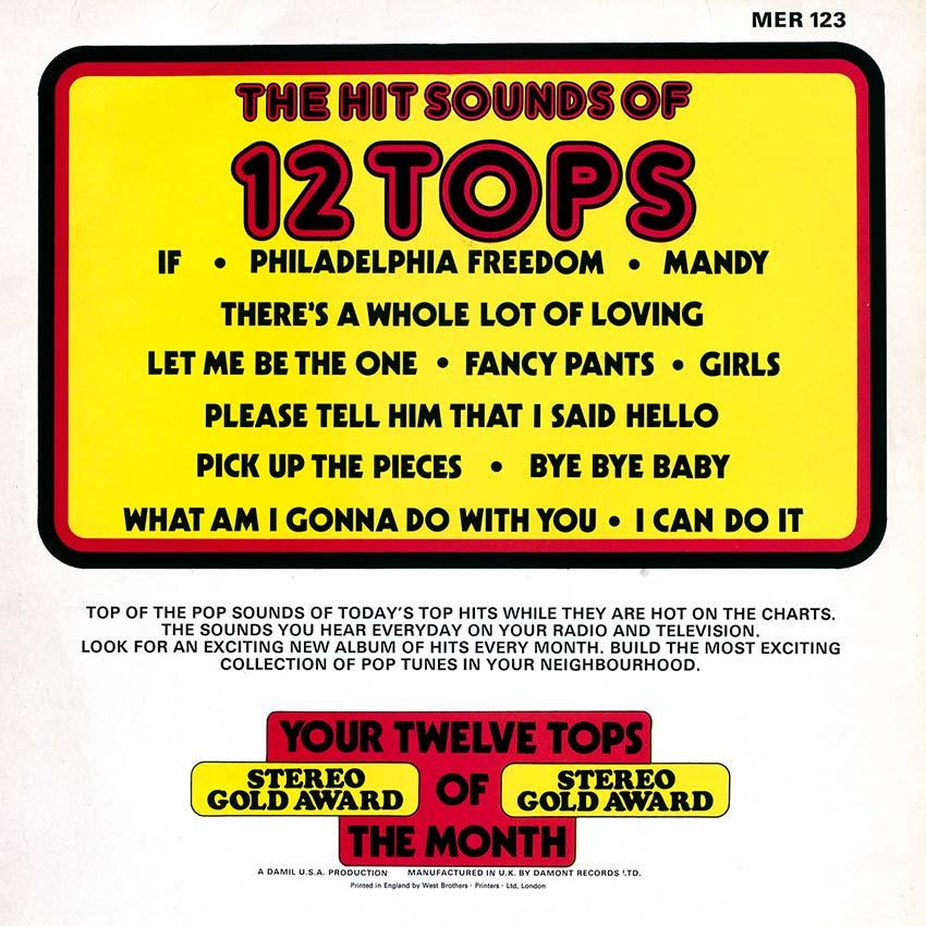 12 Tops - Today's Top Hits Vol. 27
